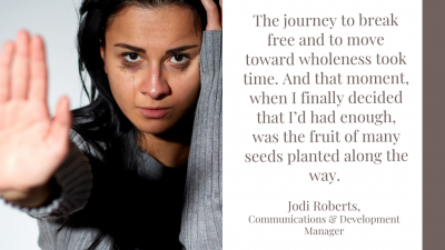 Intimate Partner Violence - Leaving is complicated: One survivor's story