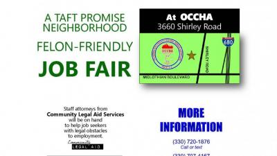Legal Aid at: Taft Promise Neighborhood Job Fair