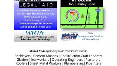 Job Opportunities: A Taft Promise Neighborhood felon-friendly job fair