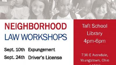 Workshop: Neighborhood Law Project - Driver's License (Mahoning)