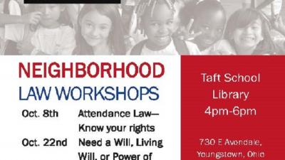 Workshop: Attendance Law - Know your Rights (Mahoning)