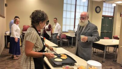 Pancakes for Pro Bono at the Akron Bar Association