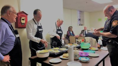 Pancakes for Pro Bono at the Trumbull County Bar Association