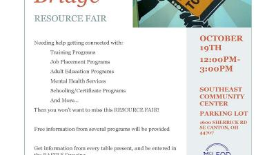 Legal Aid at: Life Over the Bridge Resource Fair (Stark County)