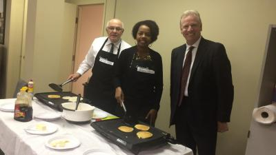 Pancakes for Pro Bono at the Mahoning County Bar Association